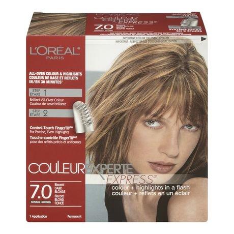 coloration pour cheveux couleur experte 7 0 de l 39 or al paris walmart canada. Black Bedroom Furniture Sets. Home Design Ideas