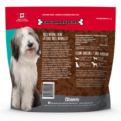 Gâteries pour chiens au foie Chewmasters - image 2 de 3