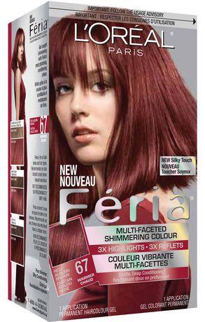 L Or 233 Al Paris Feria 67 Shimmering Haircolour Gel