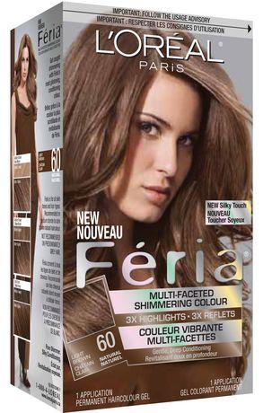 loreal feria 60 light brown - Coloration 60