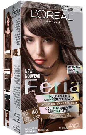loral feria 40 chtain fonc profond - Coloration Chatain Fonce