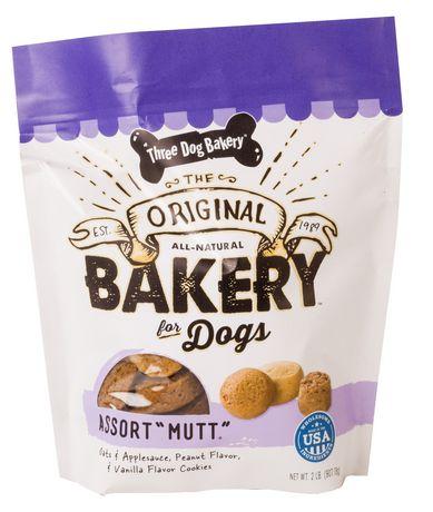 Three Dog Bakery Original Assort Quot Mutt Quot Dog Biscuits