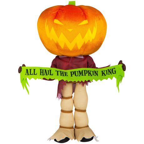 GREETER PUMPKIN KING - image 1 of 1