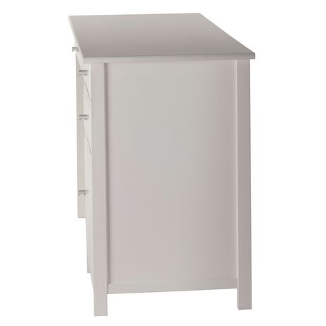 Winsome Delta Office White Writing Desk - 10147 - image 3 of 5