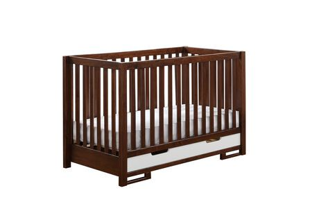 Caramia Furniture Ambry 3 In 1 Convertible Crib Walmart