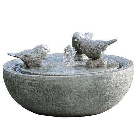 Hometrends Water Birds Fountain Decor Walmart Canada