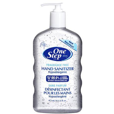one step 473 ml fragrance free hand sanitizer walmart canada
