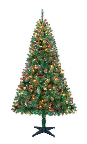 Holiday Time Madison 6 5 Green Pine Christmas Tree With