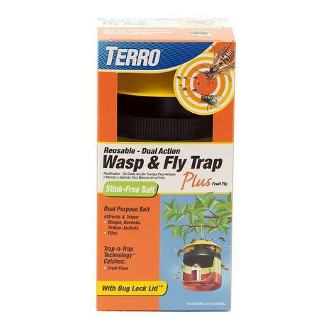 Piège à guêpes et à mouches à fruits TERRO - image 1 de 7