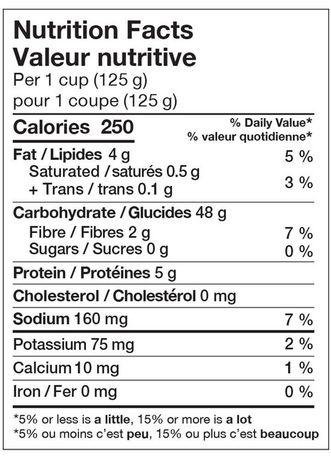 Minute Rice Basmati Rice Cups 250 G Walmart Canada