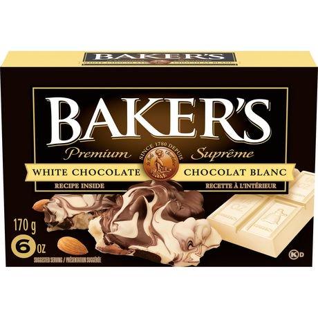 Premium white chocolate