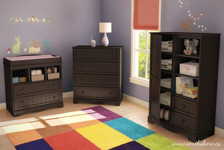 South shore savannah collection baby bedroom set for South shore bedroom set walmart