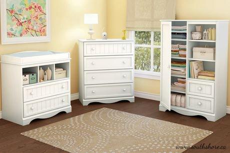 Ensemble de chambre coucher pour b b collection for Ensemble meuble chambre