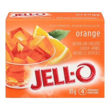 Jell-O Orange Jelly Powder, Gelatin Mix - image 1 of 2