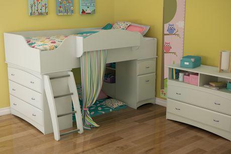 South Shore Imagine Twin Loft Bed 39 Quot Walmart Canada