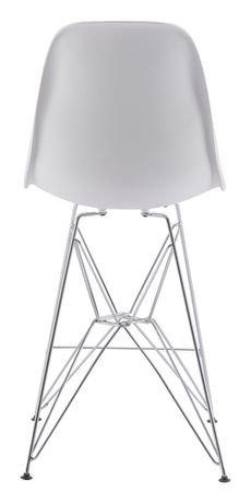 chaise de comptoir zip de zuo modern en blanc walmart canada. Black Bedroom Furniture Sets. Home Design Ideas