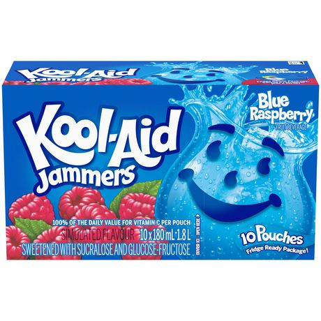 Kool-Aid Jammers, Blueberry Raspberry - image 1 of 3
