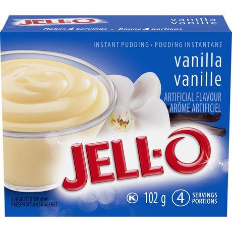 Jello pudding vanilla