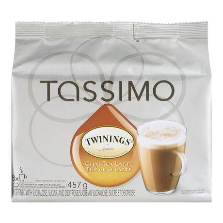Twinings Tassimo Twinnings Chai Tea Latte T-Discs