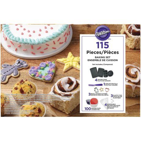 Wilton 115 Piece Baking Set Walmart Canada