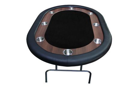 """BLACK Supreme Table 62"""" with Folding legs for 8 players. - image 1 of 1"""