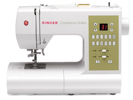 Machine coudre 7469q confidence quilter de singer for Machine a coudre walmart