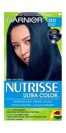 garnier nutrisse ultra color darkest blue 310 walmart canada