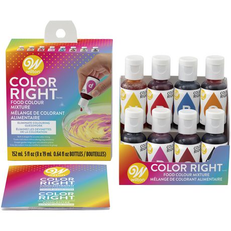 Wilton Color Right Food Colouring System
