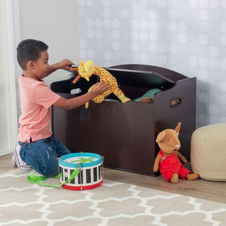 Coffre à jouets Austin - expresso - image 4 de 8