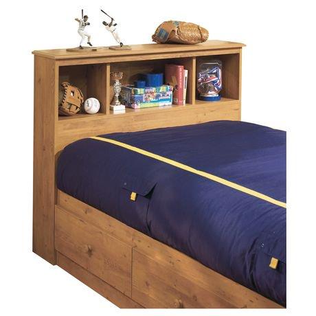 t te de lit biblioth que collection little treasures de meubles south shore simple 39 po. Black Bedroom Furniture Sets. Home Design Ideas