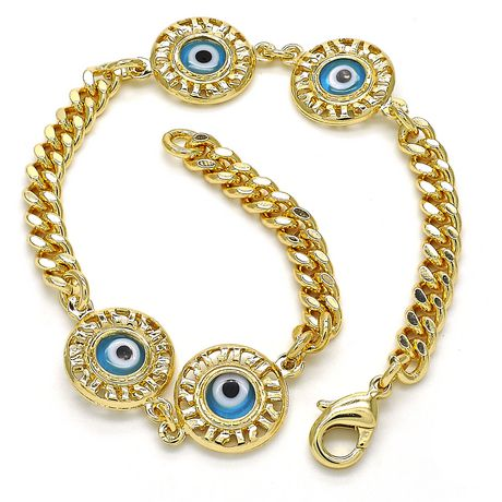 Ti Amo 14CT Or plaqué Dames bracelet - image 2 de 2