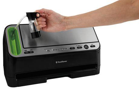 Foodsaver V4420 2 In 1 Vacuum Sealing System Stainless
