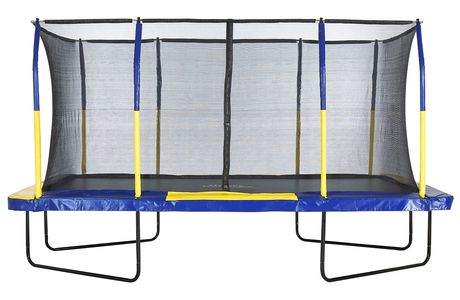 Upper Bounce® Easy Assemble Mega 9' X 15' Rectangular Trampoline, with Fiber Flex Enclosure System - image 1 of 6