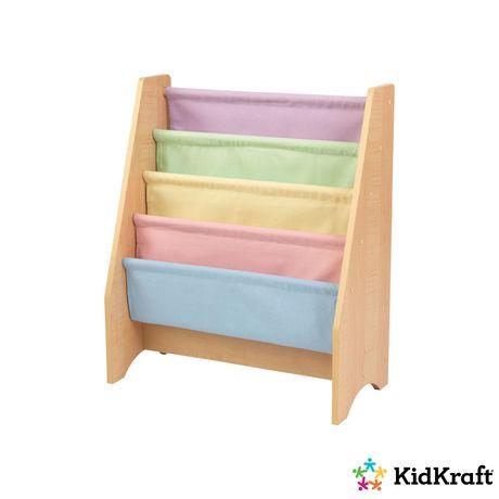 Kidkraft Pastel Sling Bookshelf - image 3 of 3