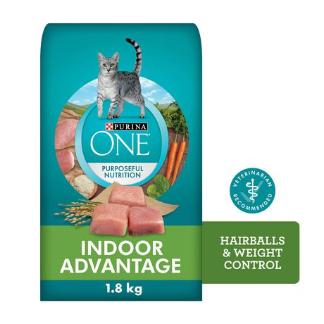 Purina ONE Dry Cat Food, Indoor Advantage - image 1 of 9