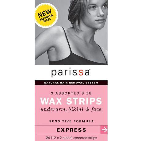 Parissa 3 Assorted Sizes Wax Strips - image 1 of 1