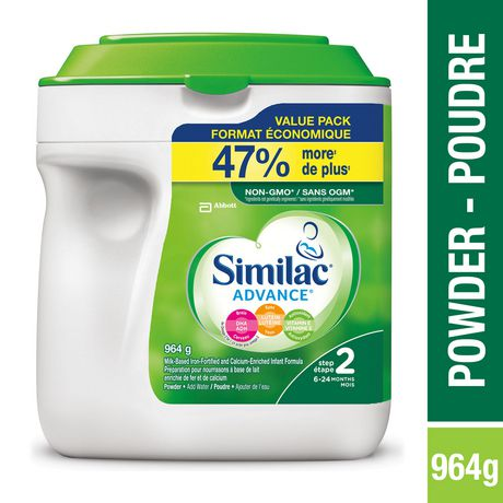 Similac Advance Step 2 Baby Formula Powder + DHA, Lutein & Vtmn E - image 1 of 9