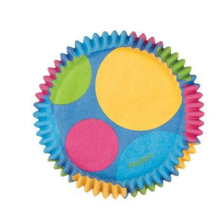 Wilton Retro Dots Mini Baking Cups - image 1 of 2