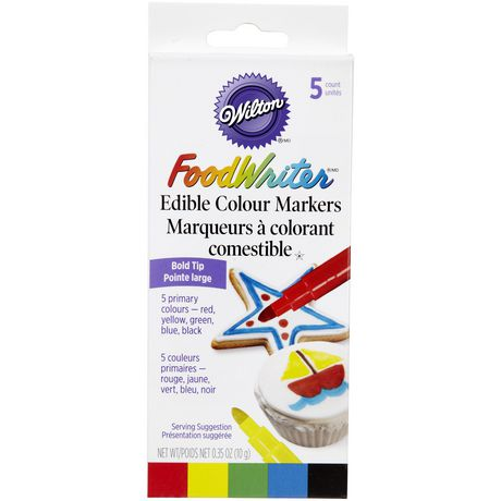 Wilton Foodwriter Primary Colour Markers - image 1 of 2