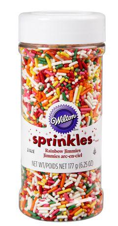 Wilton Sprinkles Rainbow Jimmies Shaker Bottle - image 1 of 2