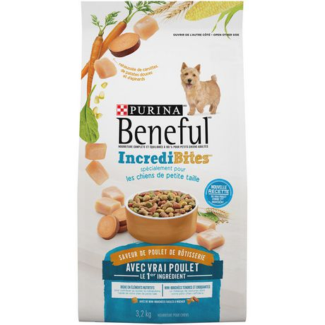 Beneful IncrediBites Dry Dog Food for Small Dogs; Rotisserie Chicken Flavour - image 2 of 4