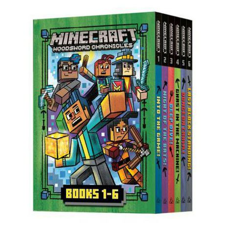ISBN 9780593380833 product image for Random House Children's Books Minecraft Woodsword Chronicles: The Complete Serie | upcitemdb.com