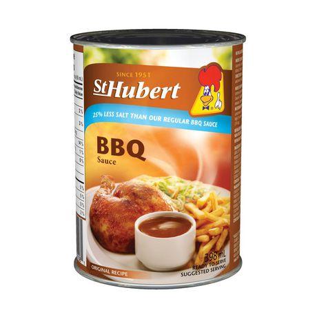 Sauce BBQ 25% moins de sel St-Hubert - image 1 de 1