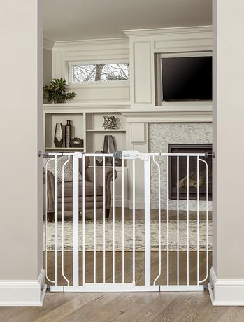 Regalo Extra Tall Widespan Walk Through Baby Safety Gate