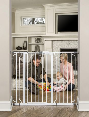 Regalo Extra Tall WideSpan Walk Through Baby Safety Gate - image 3 of 4
