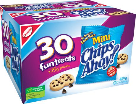 Mini Chips Ahoy Cookies