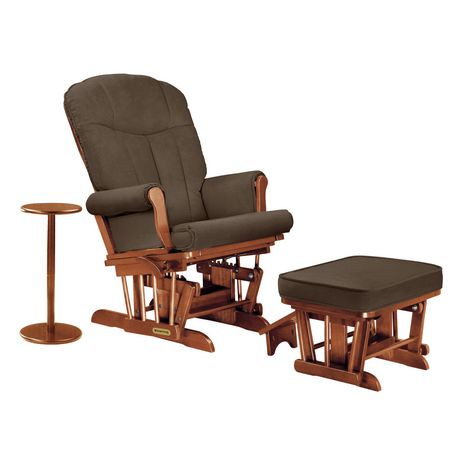 Shermag Glider Recliner Ottoman and Coffee Table with