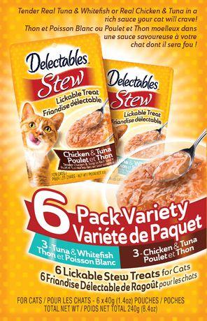 Hartz Delectables Stew Lickable Wet CAT Treats - image 1 of 1