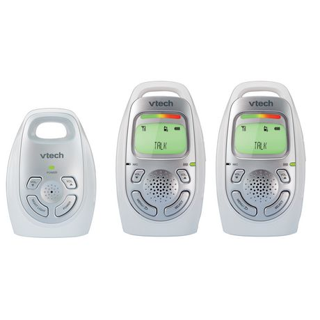VTech DM223-2 Safe&Sound® Digital Audio Baby Monitor with Two Parent Units - image 1 of 2