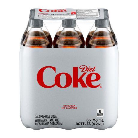 Coke DièteMD, emballage de 6bouteilles de 710mL - image 1 de 10